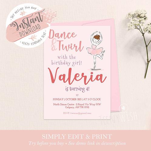 Ballet - Instant Download