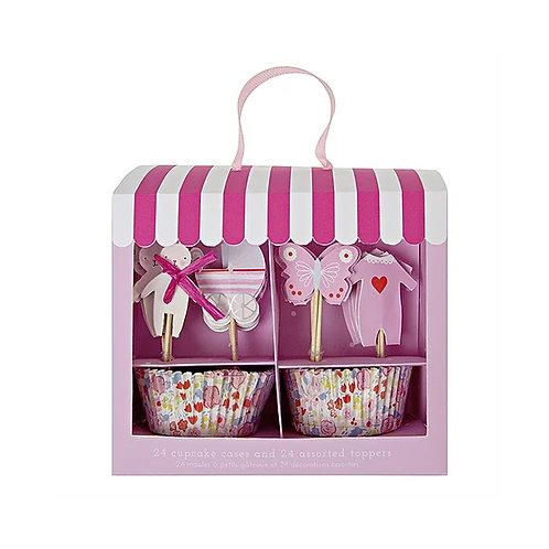 Baby Shop Pink Cupcake Kit