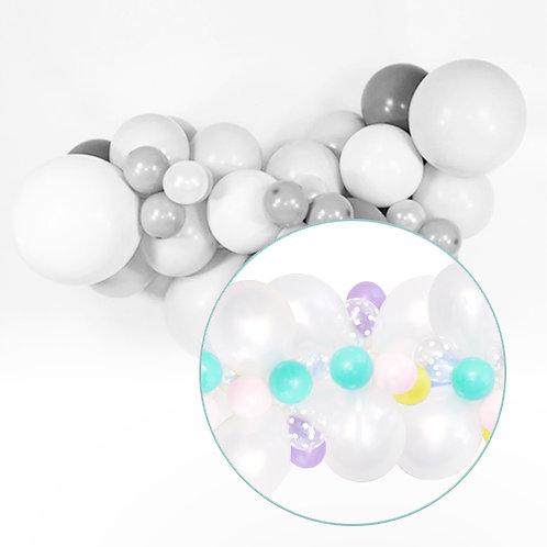 Pastel Balloon DIY Balloon Garland Set
