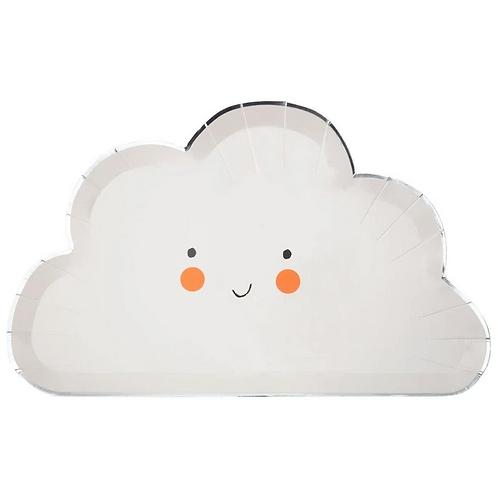 Happy Cloud Plates