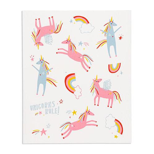 Unicorns Rule! Stickies®