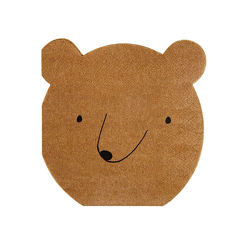 Small Bear Napkins
