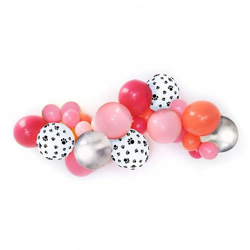 Pink Puppy DIY Balloon Garland Kit