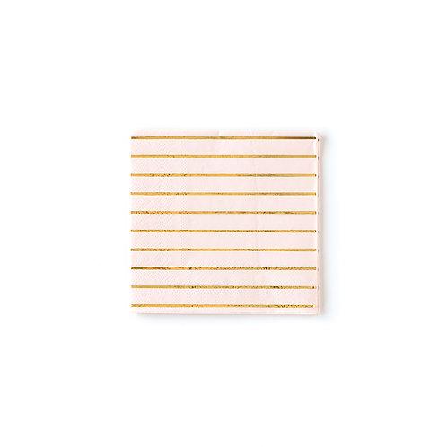 Blush Striped Napkins