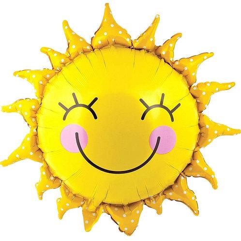 "29"" Smiling Sunshine Balloon"