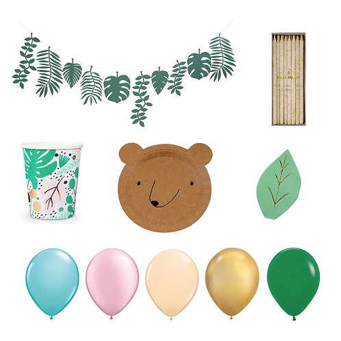 Little Tropical Bear Set