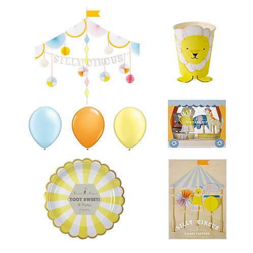Silly Circus Party Set