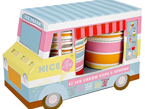 Ice Cream Van with Cups