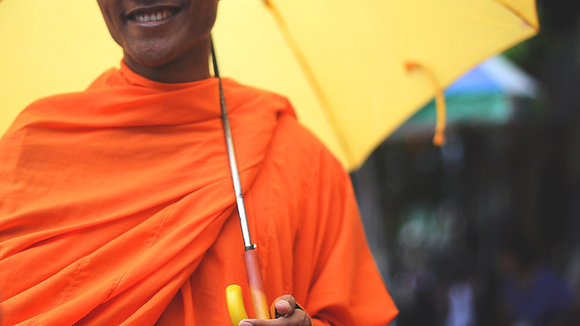 Cambodian Monk 16x20 Print