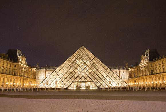 Louvre 16x20 Print