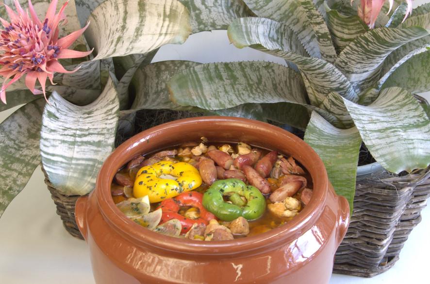 Receitas da Helena - Cozido Paranaense de Pinhão e Legumes - Entrevero