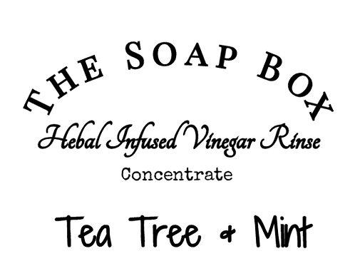 Vinegar Rinse -- Tea Tree and Mint