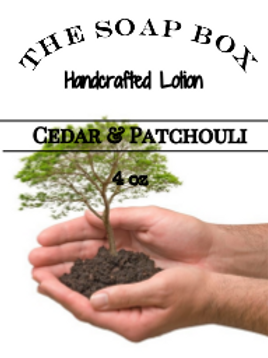 Cedar and Patchouli Body Lotion