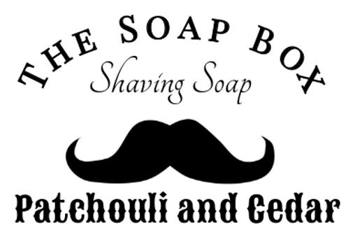 Patchouli and Cedar Shaving Soap