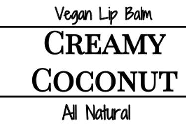 Creamy Coconut Lip Balm (Vegan)