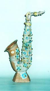 Vase Saxophone