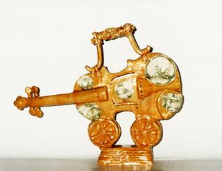 Violin Traveler  30 x 40 cm, 2003