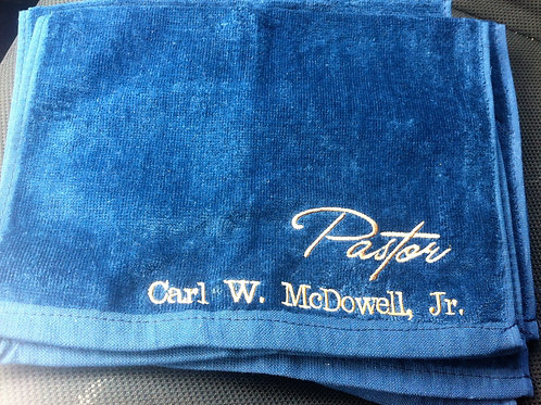 Embroidered Ministry Towels
