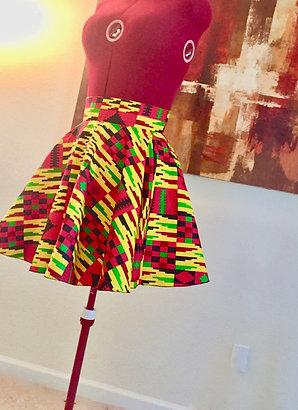 City Chic Swing Skirt