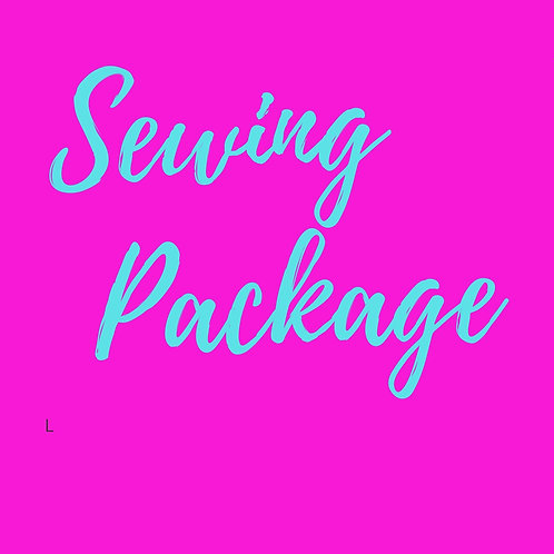Sewing Lessons  Package