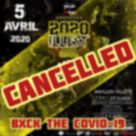 IIB 2020 cancelled