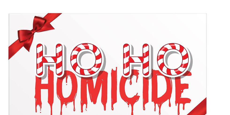 Ho Ho Homicide Fundraiser for the Center Theatre