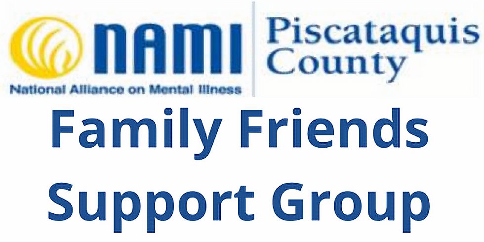 NAMI Family Friends Support Group