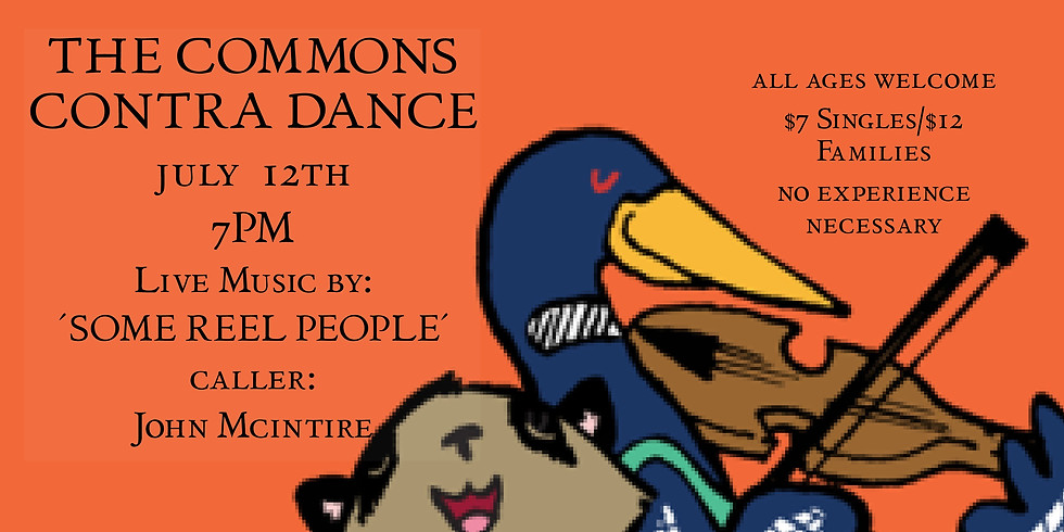 Contra Dance at the Commons at Central Hall