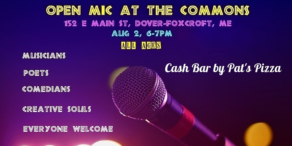 Open Mic at The Commons