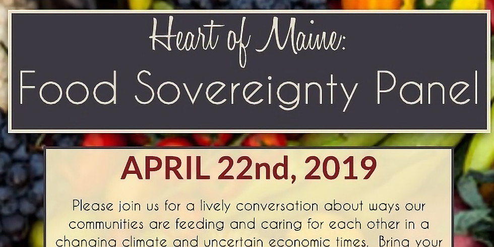 Food Sovereignty Panel