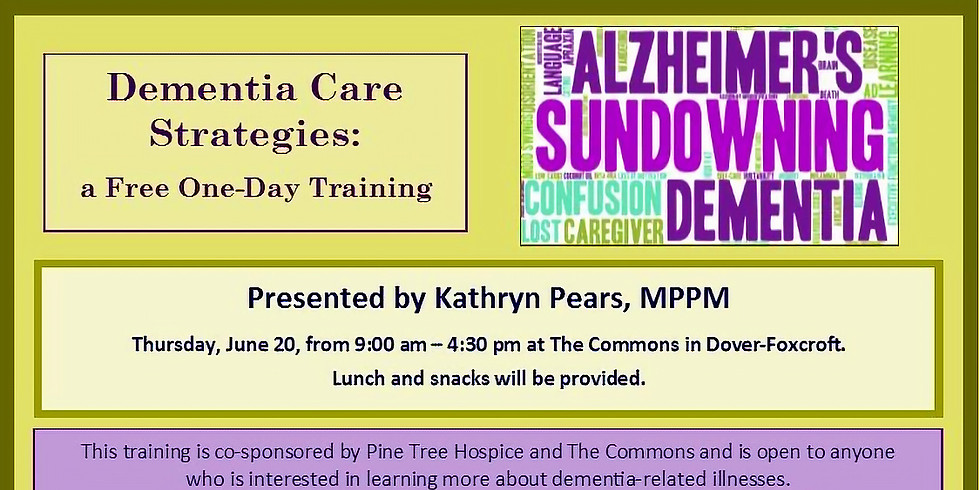 Dementia Care Strategies