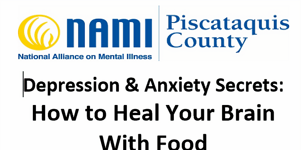Depression & Anxiety Secrets: How to Heal Your Brain With Food (1)