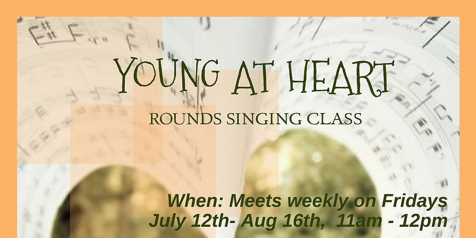Young at Heart Singing Class