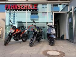 Fuhrpark Motorräder