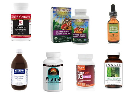 Herbs and supplement example products