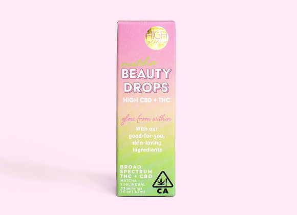 Matcha Beauty Drops