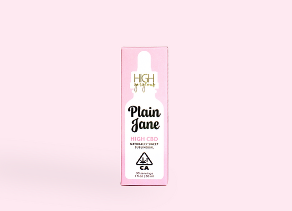 Plain Jane CBD Drops