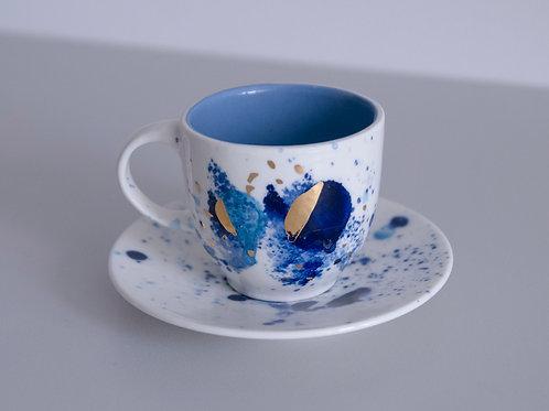Espresso kosmiczna niebieska