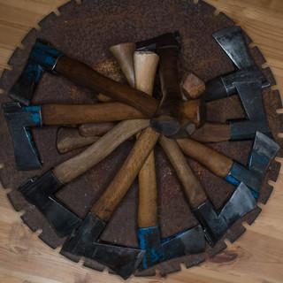 Finnish craft axes Kellokoski and Billnäs