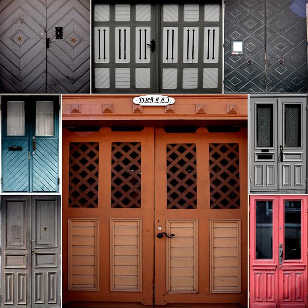 Doors of Naantali, Finland