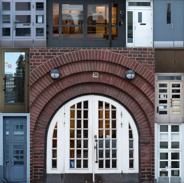 Doors of Lahti, Finland