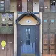 Doors of Turku, Finland