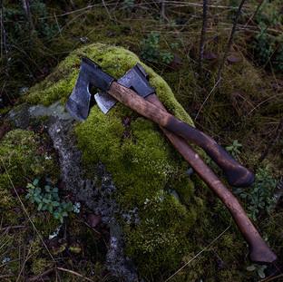 Finnish axes Billnäs