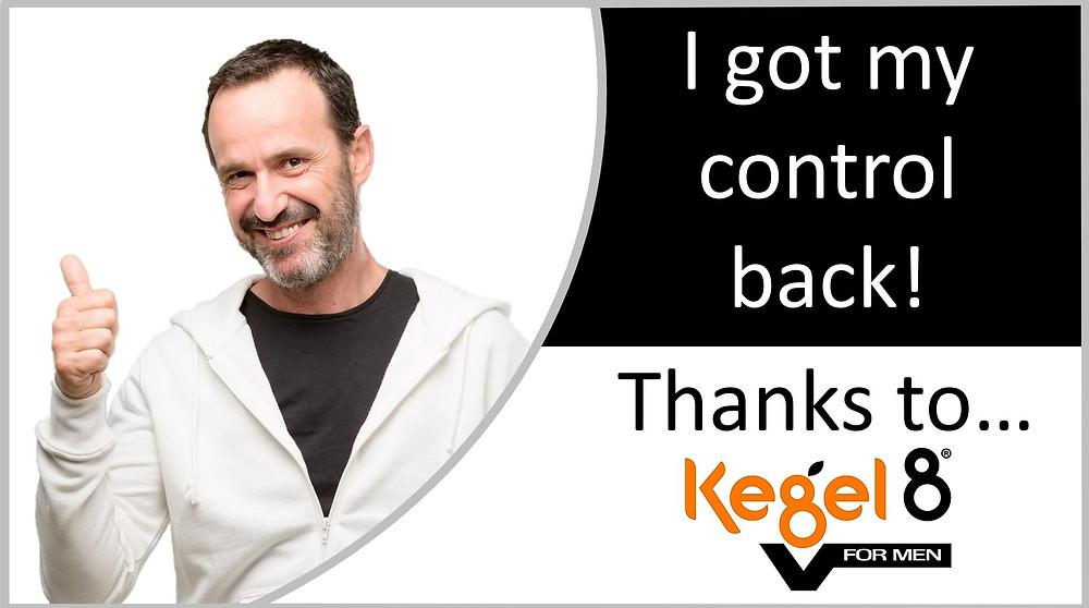Kegel8 V for men electronic pelvic toner