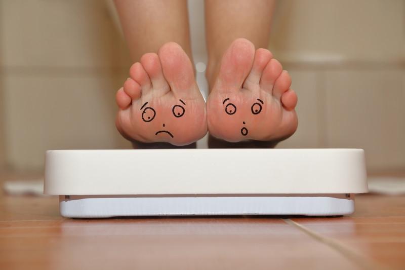 Scale, weight, obesity, pelvic floor