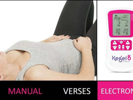Manual Exercises Vs Electronic Pelvic Toners (for men & women)