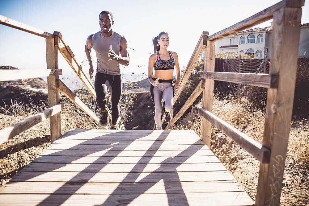 Long distance runners can suffer from pelvic pain due to over-exercising