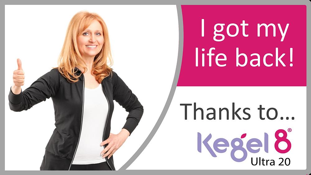 Kegel8 Ultra 20 electronic pelvic toner for women