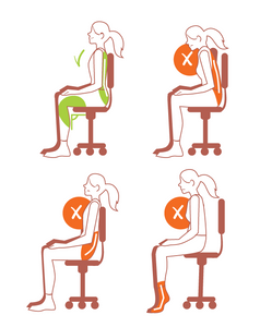 How to sit correctly when doing Kegels