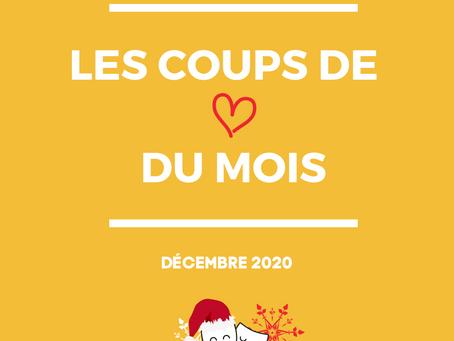 Les coups de coeur du mois | Décembre 2020